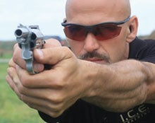 pistol aim