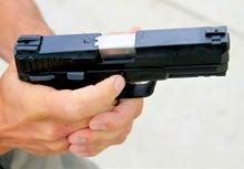 pistol finger placement