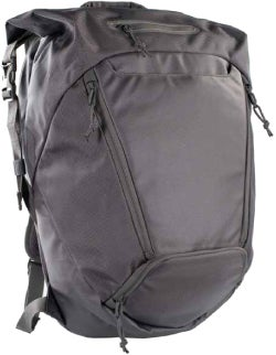The Covert Boxpack from 5.11 offers a lot of space and easy draws. It's also rather low-key by tactical standards, which is a big advantage for your personal security and wardrobe.